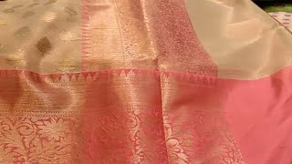 Pothys New Arrival Designer Saree/Antique Banarasi Saree/Semi Jute Silk/Raw Silk/New Year Collection