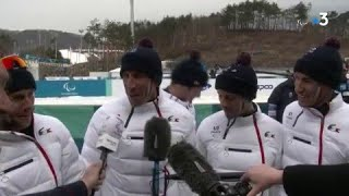 Jeux Paralympiques - Ski de Fond Relais 4x2.5 km - Benjamin Daviet