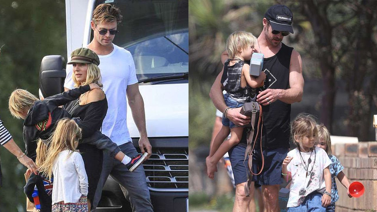 Chris Hemsworth's Fami...
