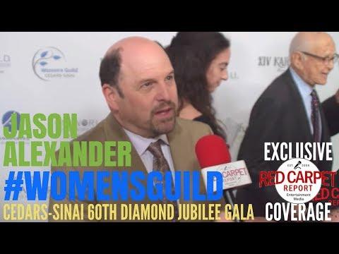 Jason Alexander interviewed at Women's Guild Cedars-Sinai 60th Anniversary Diamond Jubilee Gala
