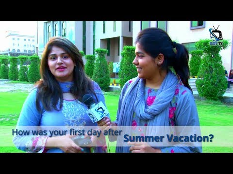 UMT Students Share their Views after Joining the University