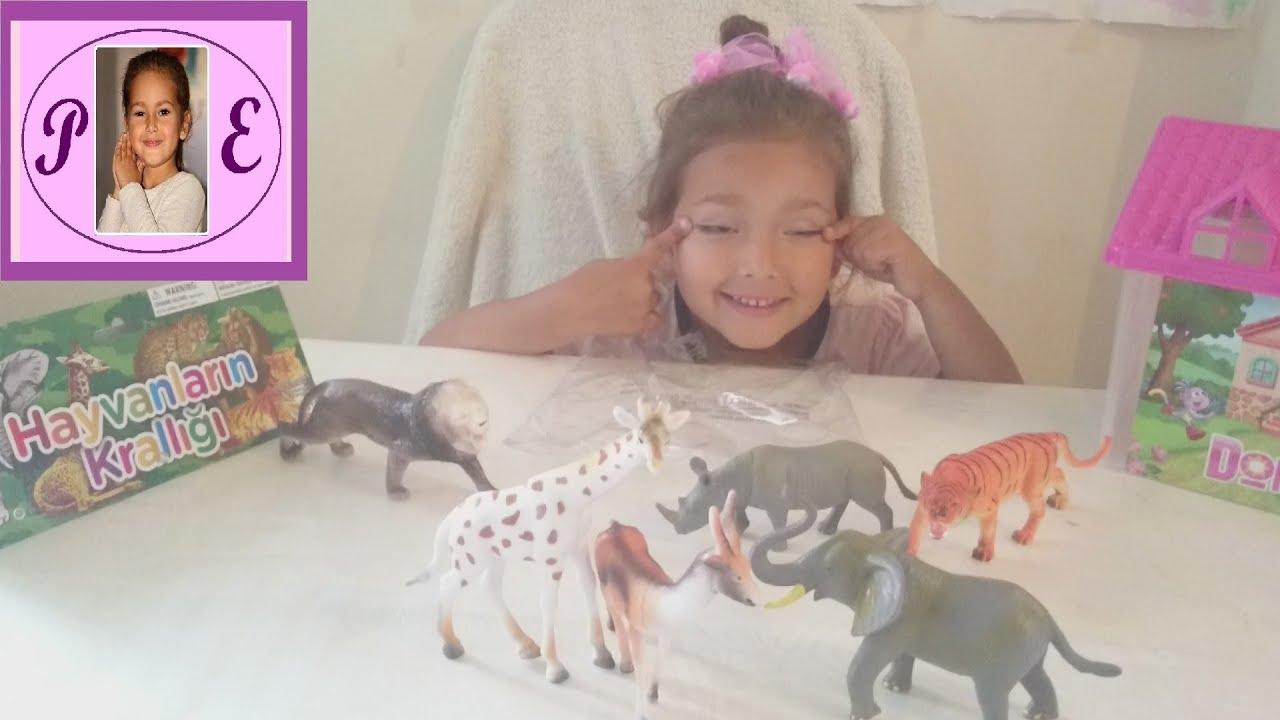 boyama yarışması yapıyoruz,hediyesi hayvanlar alemi oyuncakları.Eğlenceli çocuk videosu