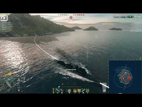World Of Warships - Intense RANKED SPRINT Match