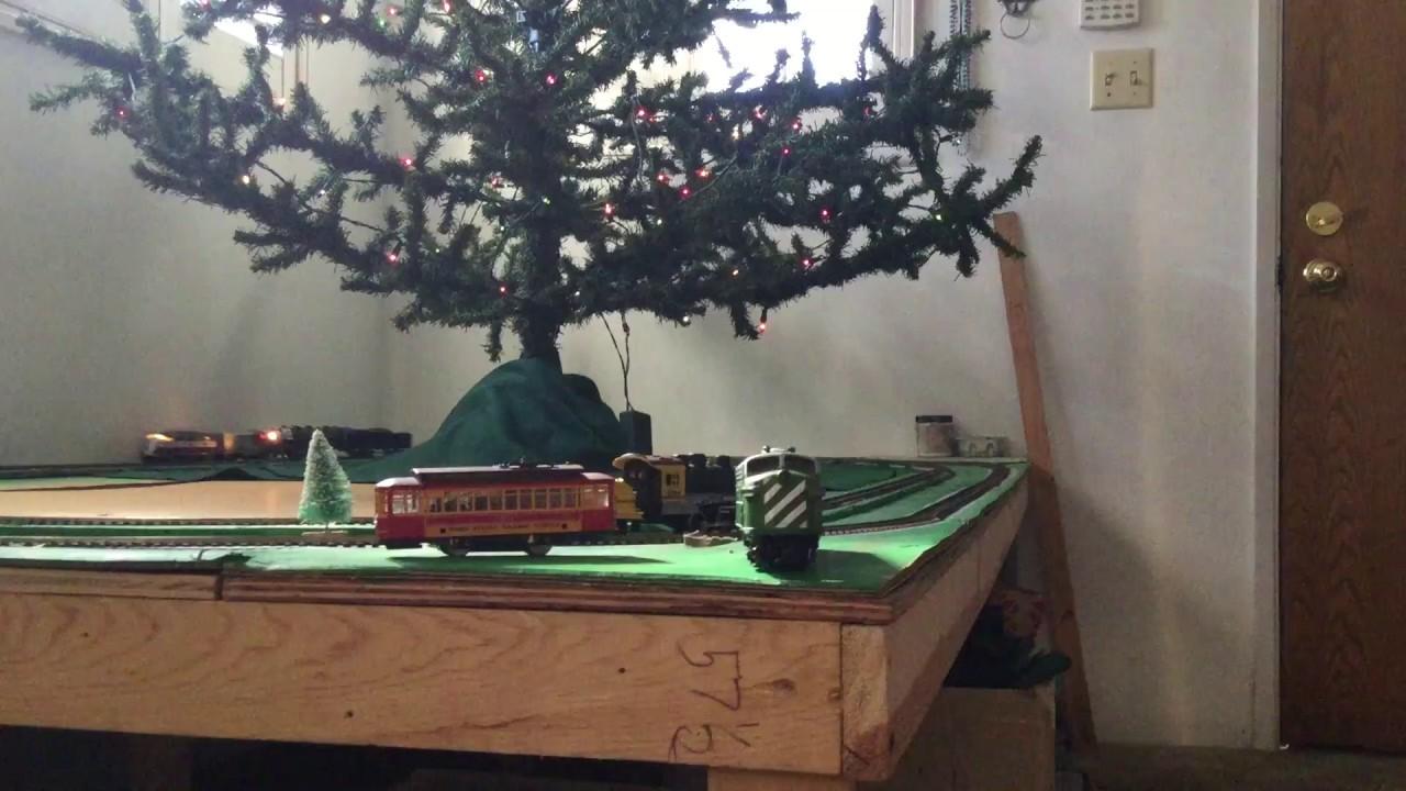 our 2017 christmas tree platform so far