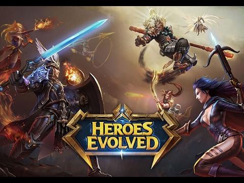 видео: dota 2, dota на телефон,планшет!! Обзор игры heroes evolved