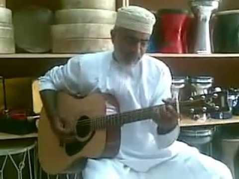 Old Omani man singing : redemption song