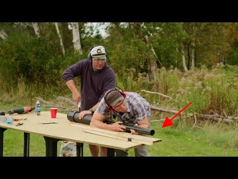 We Built A Potato Gun! - Brojects: The Webisodes