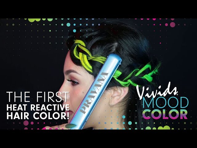 The First Heat Reactive Hair Color |  PRAVANA VIVIDS Mood Color