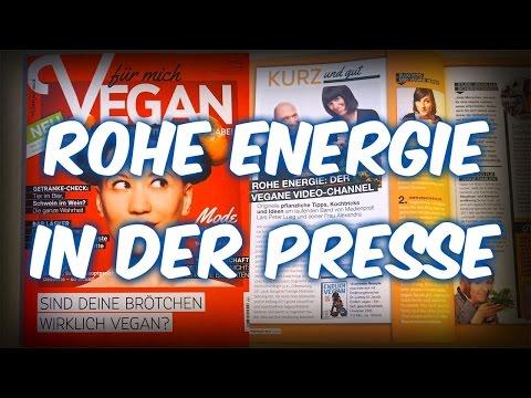 Vegan in der Zeitung - Wir im neuen Vegan für mich Magazin [VEGAN]