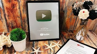 Award Youtube - I love you all - Nút bạc Youtube cảm ơn tất cả các bạn.