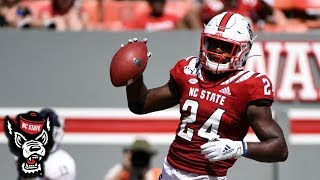 NC State's Zonovan Knight Impresses Against Western Carolina