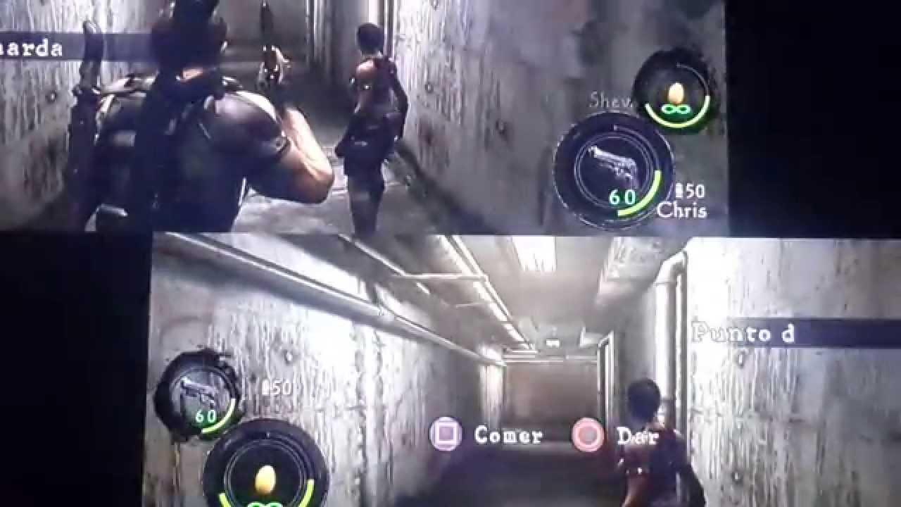 Como Jugar Resident Evil 5 De 2 Dos Jugadores Ps3 Ps4 Youtube