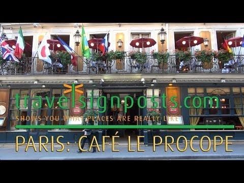 Le Procope, Paris -- A Place of Rendezvous Through History
