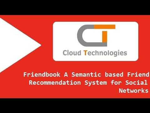 Friendbook  A Semantic based Friend Recommendation System for Social Networks