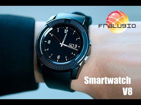 Smartwatch V8 Reloj Inteligente - Bluetooth - Sim- Sd Card