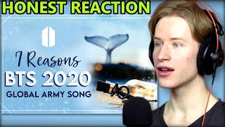 "HONEST REACTION to 2020 Global ARMY Song ""7 Reasons"" - Gracie Ranan ft. ARMY #bts #7reasons"