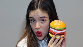 MINI MIRANDA PLAYS WITH SQUISHIES! - Ultimate Squishy Surprise!