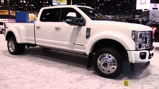 2020 Ford F450 Super Duty Limited - Exterior Walkaround - 2019 Chicago Auto Show