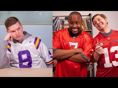 SEC Shorts - Georgia and Alabama give LSU tips on how to win the Playoff...sorta.