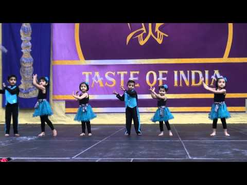 Chesapeake Super Kids' Dance Performance at Taste of India 2012 Norfolk, VA