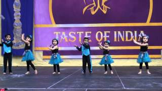Chesapeake Super Kids' Dance Performance at Taste of India 2012 Norfolk, VA
