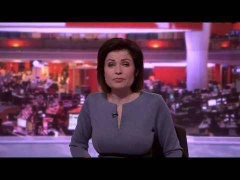 Jane Hill BBC News At Five January 10th 2018