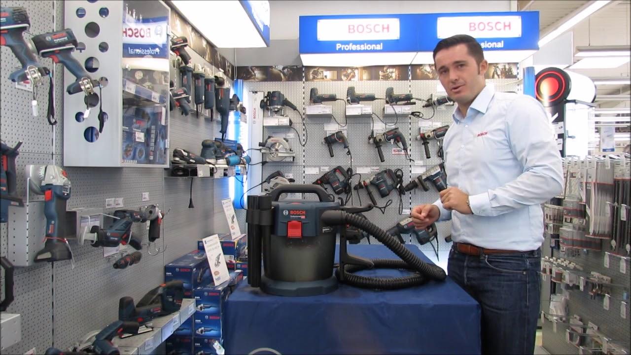 Hervorragend Bosch GAS 18V 10 L - YouTube FU81