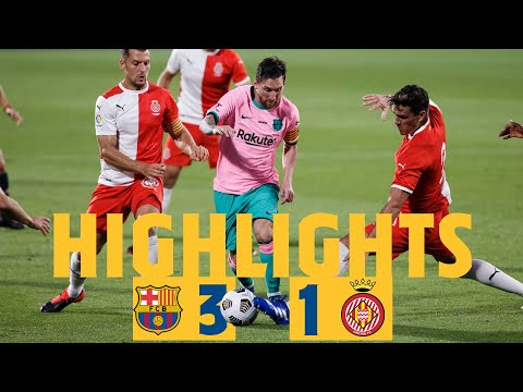 HIGHLIGHTS & REACTION | Barça 3-1 Girona