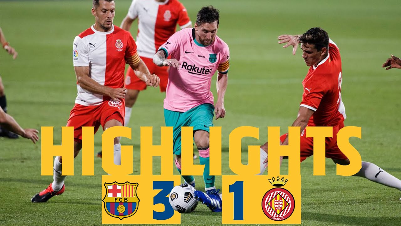 Download HIGHLIGHTS & REACTION | Barça 3-1 Girona