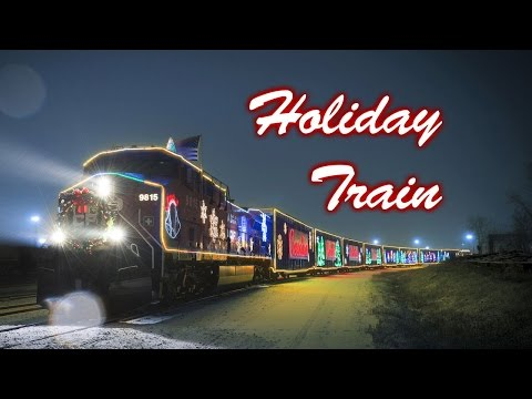 Canadian Pacific Holiday Train, Hartland, WI 2014