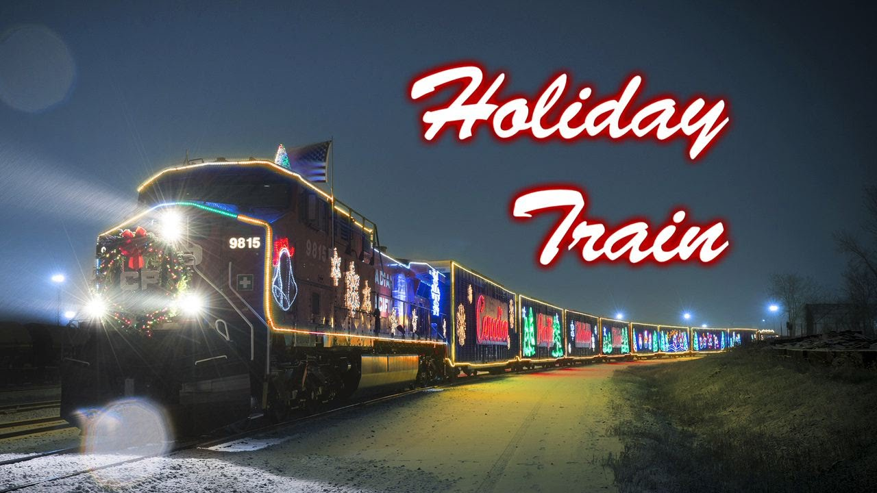 canadian pacific holiday train hartland wi 2014 youtube