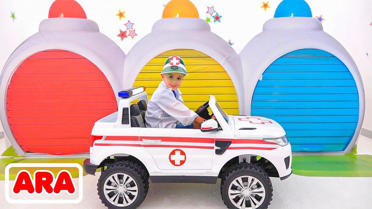 صورة فيديو : يصبح فلاد بطل مدينة وينقذ الموقف قصص أطفال مع سيارات لعبة