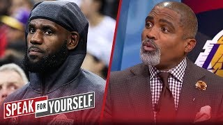 Cuttino Mobley weighs in on the backlash to LeBron's comments | NBA | SPEAK FOR YOURSELF