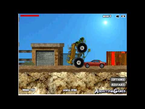 MONSTER TRUCK - Demolisher # 16-20, Fun Game for Kids HD Baby Video from YouTube · Duration:  4 minutes 38 seconds