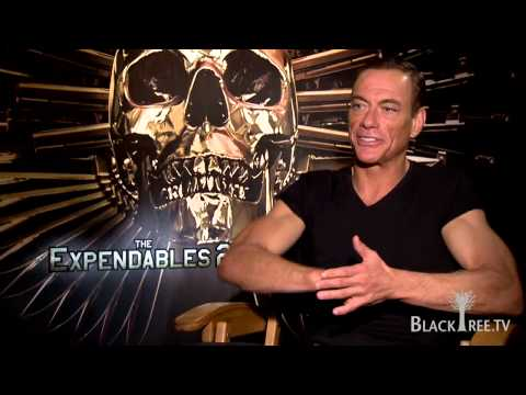 The Expendables 2 Jean Claude VanDamme Interview