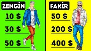 Zengin ve Fakir İnsanlar Arasındaki 7 Fark