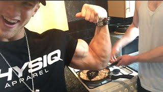 The Secret To Building Muscle - Food Prep - Peanut Butter Chicken