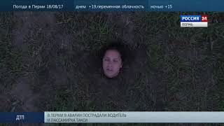 Пермская художница закопала себя на эспланаде