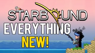 Repeat youtube video Everything New in Starbound Update 1.1