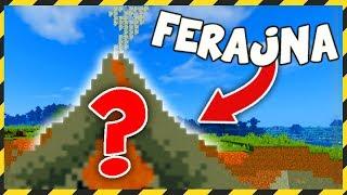 Minecraft FERAJNA: ODKRYWAMY TAJEMNICE WULKANU