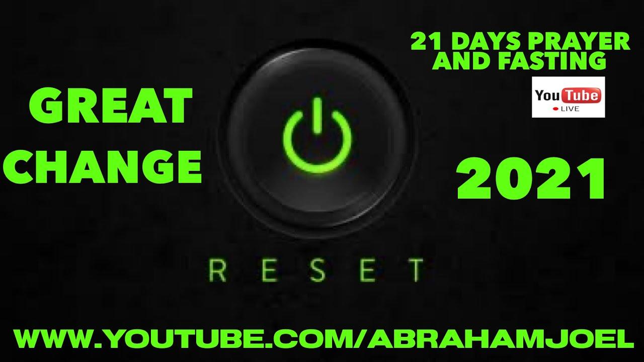 "LIVE DAY 2 : 11.1.21 ""RESET SEASON"" // ""SETTING ULANG"" //  #21DAYSPRAYERANDFASTING // ABRAHAM JOEL"