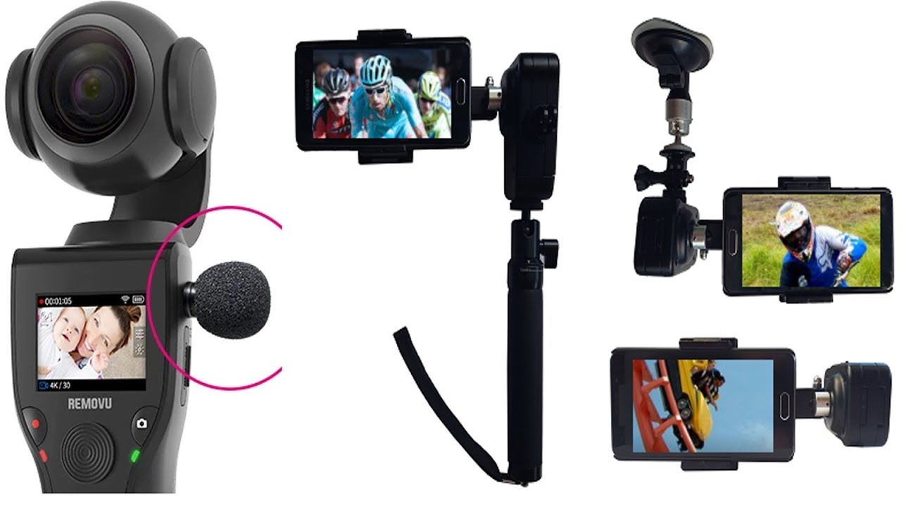 5 Best Smartphone Gimbals or Camera Stabilizers In 2017 - GoPro Stabilizer #05