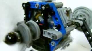 Moteur radial d'avion Lego