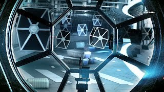 Star Wars Battlefront 2 Space Battle of Fondor Gameplay - Imperial Shipyard