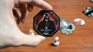 Распаковываем карточки и фигурки Звёздные Войны: Изгой-Один