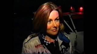 Rachelle Splatt Top Fuel Dragster Fiery Engine Explosion
