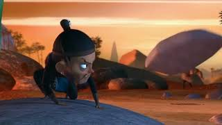 Preisgekröntes 3D-CGI-Animierten Kurzfilm FilmThe Legende von Der Cr