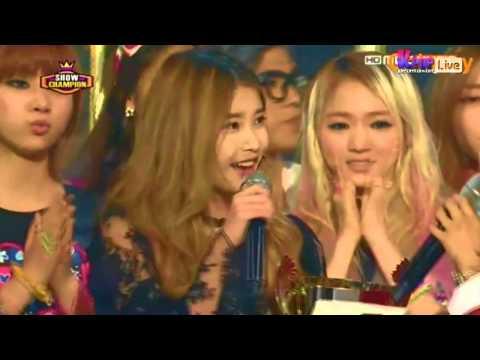 IU - MBC Show Champion - Red Shoes - Encore
