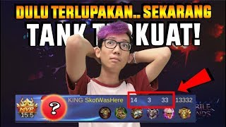 DULU TANK INI PALING DILUPAKAN SEKARANG JADI TERKUAT & IMBA! - Mobile Legend