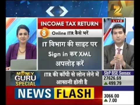 Money Guru : Right way to file ITR by 'Sushil Jain'